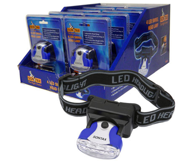 Picture of VisionSafe -VS60028 - Adjustable Head Lamp